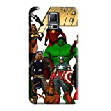 New Arrival Wonderful The Avengers Earth's Mightiest Heroes Cell Phone Carrying Skins Protector Case Cover Samsung Galaxy Note 4