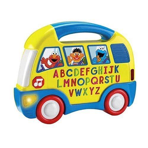 Fisher-Price Sesame Street Elmo's Alphabet Bus