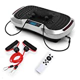 GENKI Upgraded Bluetooth Vibration Plate Whole Body Massage Power Plateform Slim Exercise Fitness...