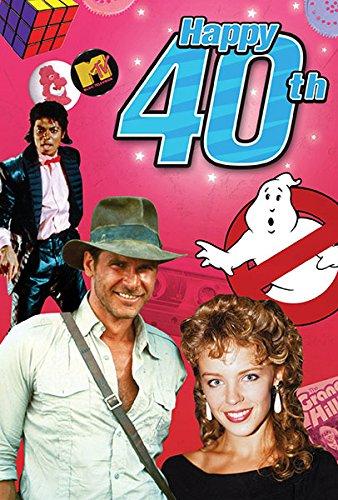Happy 40th Birthday Milestone Greeting product image