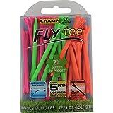 Champ Zarma FLYTee-2.75-Inch Mixed Neon Golf Tees 30 Pack