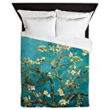 CafePress - Van Gogh Almond Blossoms Tree - Queen Duvet Cover, Printed Comforter Cover, Unique Bedding, Microfiber