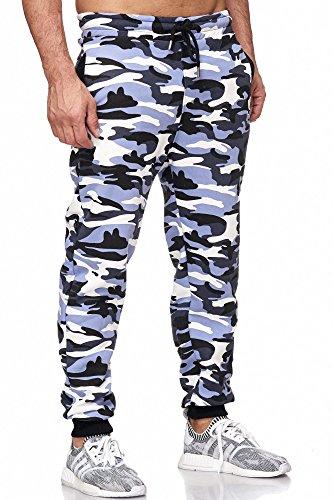 Tazzio Prod Uomo Camouflage nbsp;birds 16600 Per Cod Pantaloni braun Jogging PqOAHP