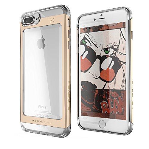 - iPhone 7 Plus Case, Ghostek Cloak 2 Series for Apple iPhone 7 Plus Slim Protective Armor Case Cover(Gold)