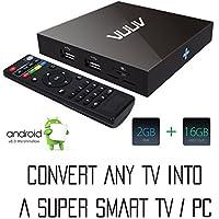 VUUV V2 Smart Android Mini PC / TV Box Quad Core 2 GB / 16 GB 4K UHD