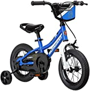 Schwinn Koen Boys Bike for Toddlers and Kids, 12, 14, 16, 18, 20-Inch Wheels for Ages 2 Years and Up, Balance