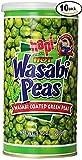 Hapi Snacks Wasabi Peas, Hot, 9.9 Oz (Pack Of 10)