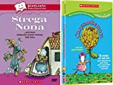 Scholastic Video Collection 2-DVD Bundle - Strega Nona & Chrysanthemum and More Kevin Henkes Stories
