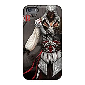 Perfect Hard Phone covers cases for Happy Christmas andd New Year For Apple Iphone 6s (HRx6644GOrA) Customized Stylish Assassins Creed 2 Pattern