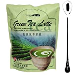 Gino Cafe Green Tea Latte(5 Bag) + One NineChef Coffee Spoon