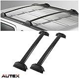 AUTEX 2Pcs Aluminum Cross Bar Roof Rack Compatible with 2002 2003 2004 2005 2006 Honda CRV Roof Top Rail Rack Crossbar Luggage Cargo Carrier Rack