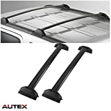 AUTEX 2Pcs Aluminum Cross Bar Roof Rack Compatible with Honda CRV 2002 2003 2004 2005 2006 Roof Top Rail Rack Crossbar Luggage Cargo Carrier Rack