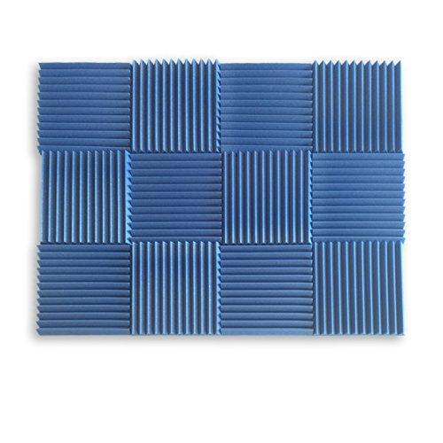 Sound Foam Panels For Walls : Acoustic wall foam panels sound proof wedges deadening