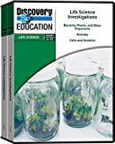 Discovery Education Life Science Investigation DVD Library (Set of 5)