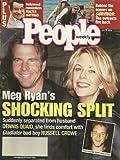 Meg Ryan, Dennis Quaid and Russell Crowe, Walter Matthau, Survivor - July 17, 2000 People Weekly Magazine