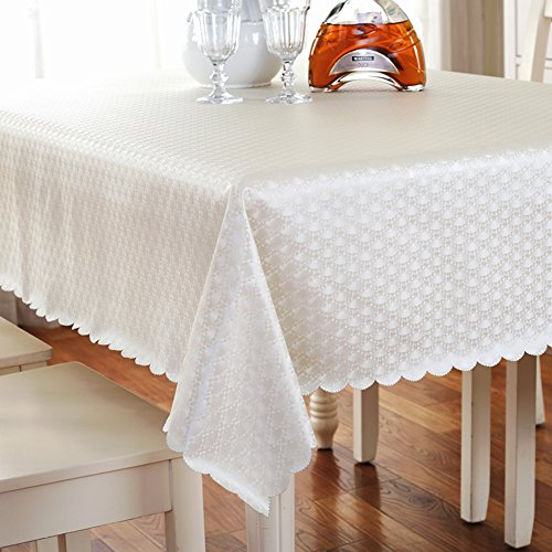 9555 Oil (European pvc table cloth,waterproof and oil-proof anti-ironing cloth dining table mat-A 100x160cm(39x63inch))