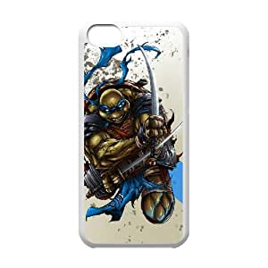 ANCASE Custom Color Printing Ninja turtles Phone Case For Iphone 5C [Pattern-1]