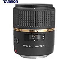Tamron SP AF60mm F2 Di II LD (IF) 1:1 Macro Lens for Canon EOS (AFG005C-700) - (Certified Refurbished)