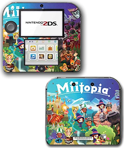 Miitopia Mii Quest Dark Lord Rpg Video Video Game Vinyl Decal Skin Sticker Cover For Nintendo 2Ds System Console