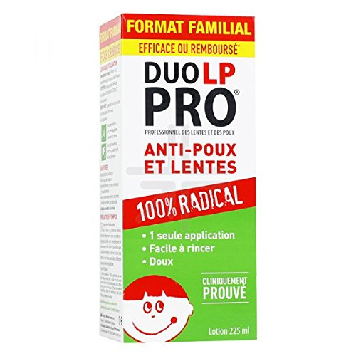 DUO LP PRO Anti-Poux et Lentes Lotion 200 ml 3595890228728