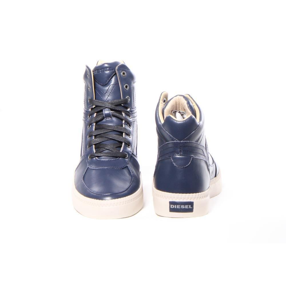 Diesel Sneaker - Herren - Halbhohe Sneaker Spaark in Marineblau für Herren  - 43  Amazon.de  Schuhe   Handtaschen e6a90c24cd