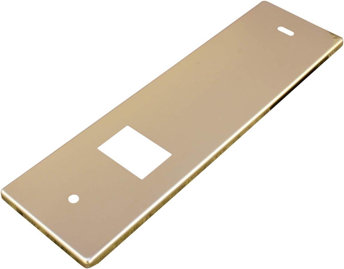 16.5 cm Oro Schellenberg 10278 Placca per Avvolgitore Distanza dei fori