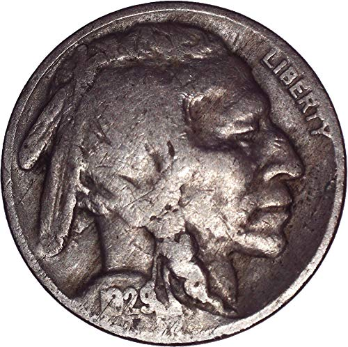 1929 Buffalo Nickel 5C Very Fine