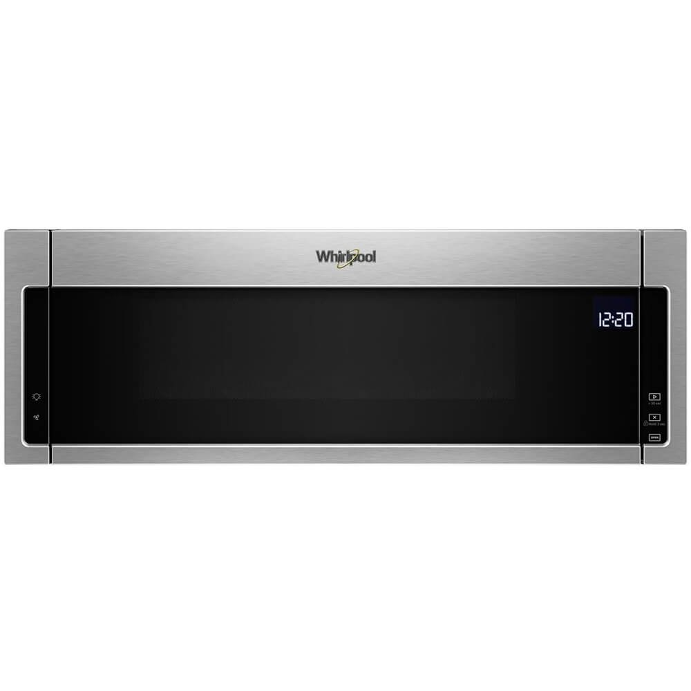 Whirlpool WML75011HZ 1.1 Cu. Ft. Stainless Over-the-Range Microwave Oven by Whirlpool