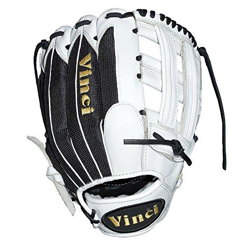 Vinci Pro Custom Limited or Mesh Series Fielders Glove (White) Custom Pro Fielders Glove