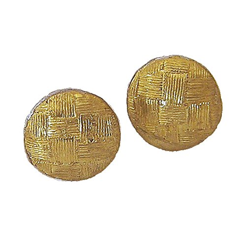 2dd232a1e81ac 24 karat gold earring with argentium silver backing