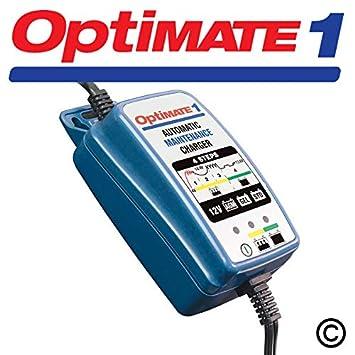 Optimate 1 12v 0.6a Moto 4 Step Automático Batería ...