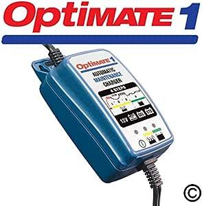 OPTIMATE 3 Doble Motocicleta 12V Cargador De Batería Optimizador SAE versión UK NUEVO