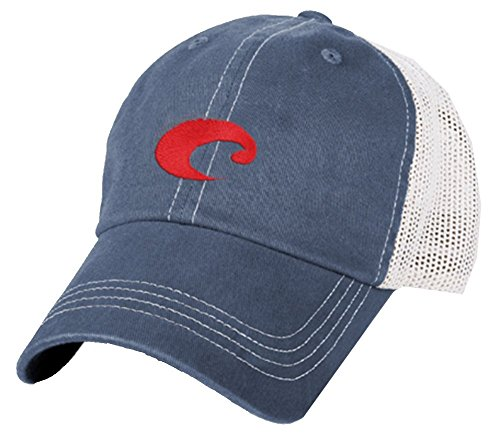 Costa Del Mar Mesh Hat, Slate Blue