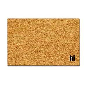 Sun&home - Felpudo personalizado divertido para interiores y exteriores, alfombrillas de baño, decoración del hogar, tela no tejida antideslizante