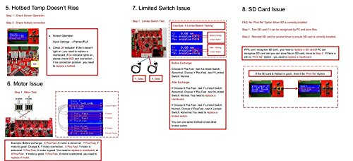 ALUNAR 3D Printer Control Board Desktop RepRap Prusa i3 Kit