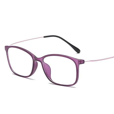 Yangjing-hl Gafas de Marco de Pierna de Acero Inoxidable ...