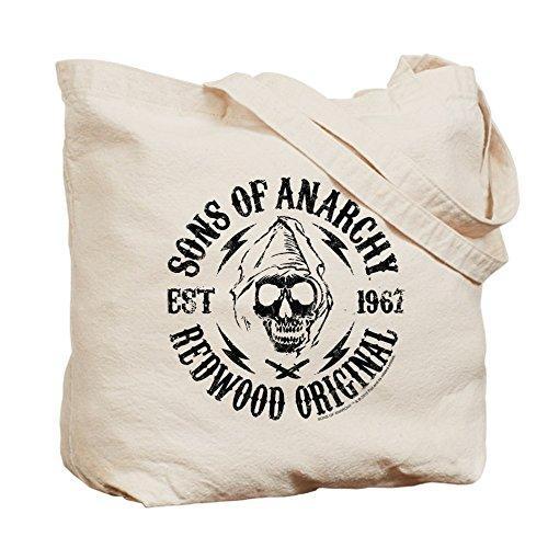 CafePress–SOA Redwood–Leinwand Natur Tasche, Reinigungstuch Einkaufstasche, canvas, khaki, S