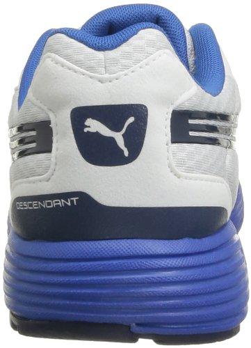 Puma Descendant V1.5 - Zapatillas de Deportes de Exterior de tela hombre blanco - Weiß (white-insignia blue 04)