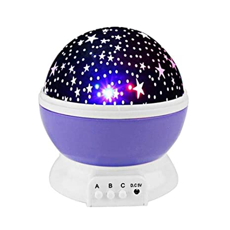 Proyector de estrella Lámpara de proyector de luz nocturna LED ...