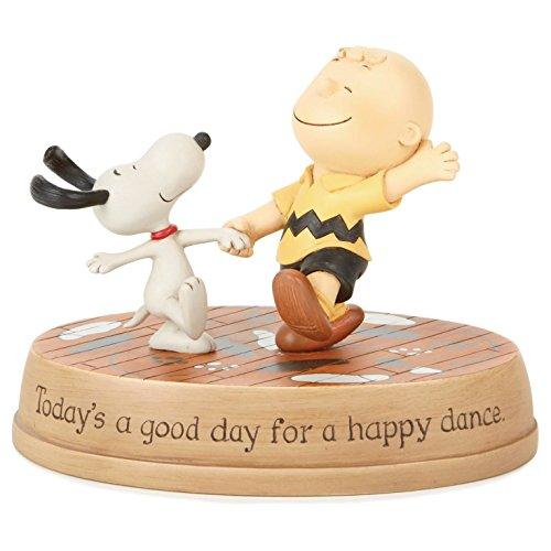 Peanuts Happy Dance Figurine Figurines Movies TV