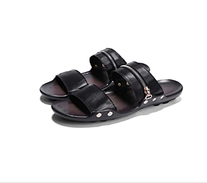 c317c8acdcf4f Amazon.com : GHFJDO Men Outdoor Closed-Toe Sandals, Summer Open Toe ...