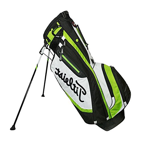 Titleist Lightweight 4-Way Stand Golf Club Bag with Backpack Strap, Lime Green by Titleist (Image #4)