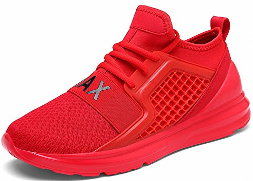 Weweya Mens Road Running Shoes Athletic Training Shoes Casual Walking Sneakers