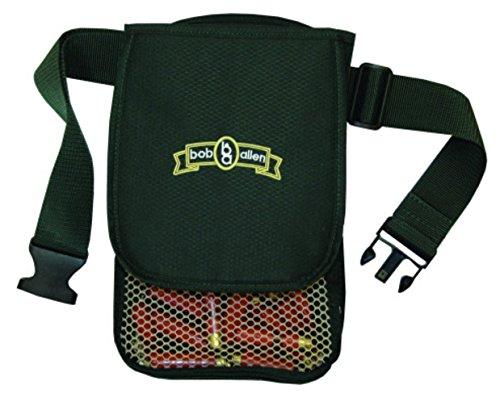 "Bob Allen 429T Superior Shell Nylon Pouch with Belt, Green, 2"""