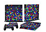 LLC Integral – Style Decal Cover for Sony PlayStation 4 slim PS4 Console Gamepad pack Sticker + 2 Skins stickers for dualshock 4 Controller Review