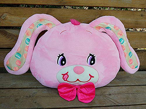 FidgetGear Jumpin Jellybean Bunny Cherry Bear Rabbit Plush Cushion Pillow Pink Bunny from FidgetGear
