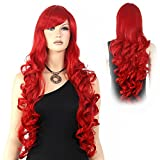 Extra Long Curly Wig Water Wave Wavy for Women Halloween Cosplay Party Hair 32