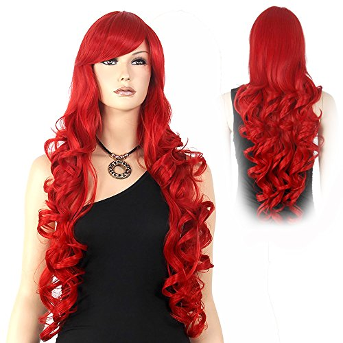 Extra Long Curly Wig - 4