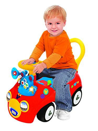 Disney 4-in-1 Mickey Activity Gears Ride On (Color May Vary)