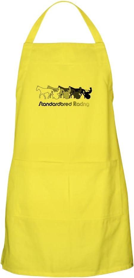 CafePress Racing - Delantal para Parrilla, diseño de Silueta: Amazon.es: Hogar